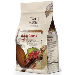 Chocolat lait Origine Ghana 40,5% 1 kg Barry