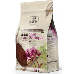 Chocolat noir Origine Saint-Domingue 70% 1kg Barry