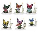 Bougies  Anniversaire Papillon