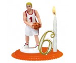 Bougie Anniversaire Basket