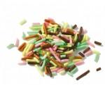 Vermicelles multicolores 1kg Barry