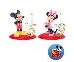 Bougies Anniversaire Mickey et Minnie
